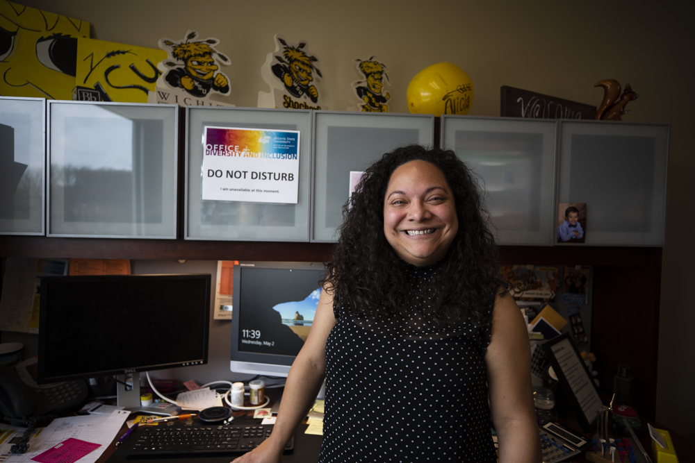 Alicia Sanchez, Director of Diversity and Inclusion at Wichita State University, is being going to be honored at a luncheon in Topeka on Thursday.