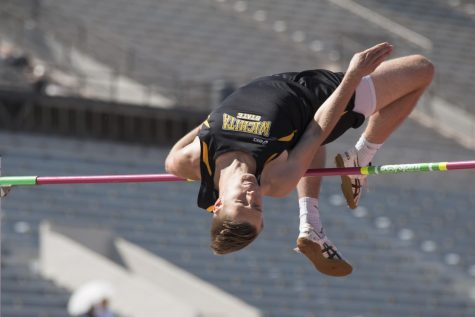 PHOTOS: Track and field finishes regular season at home