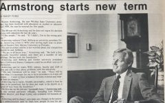 Sunflower Archives: Armstrong settles in as WSU president