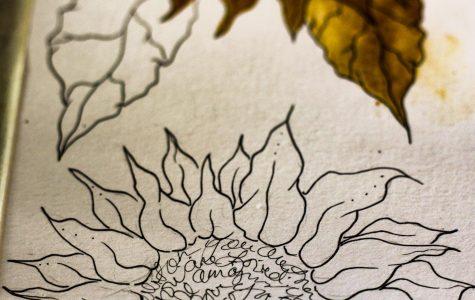 Coffee painter brings imagistic magic to ICT