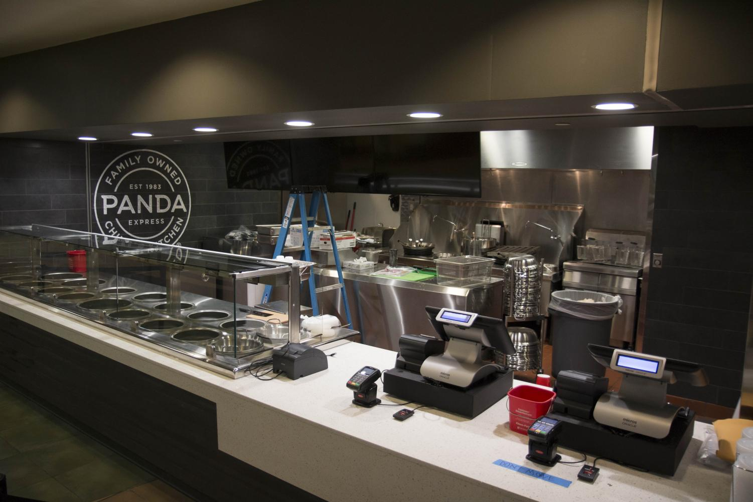 The new Panda Express on campus can be found in the Rhatigan Student Center. (File photo)