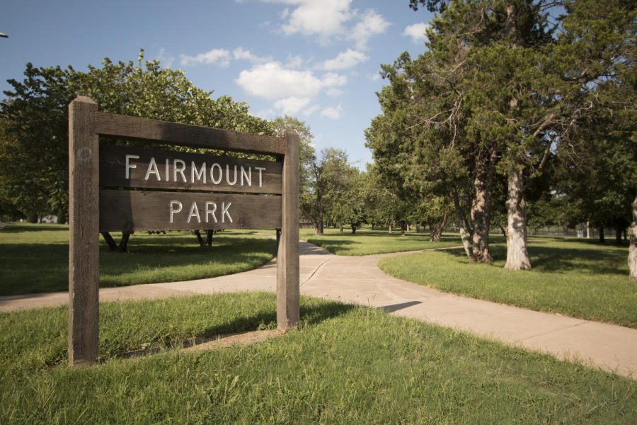 Fairmount+Park+is+located+just+south+of+Wichita+State%27s+campus%2C+across+17th+Street.+Police+say+a+man+was+shot+here+early+Saturday+morning.
