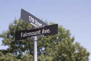 The Fairmount neighborhood is located just south of Wichita State's campus, across 17th Street.