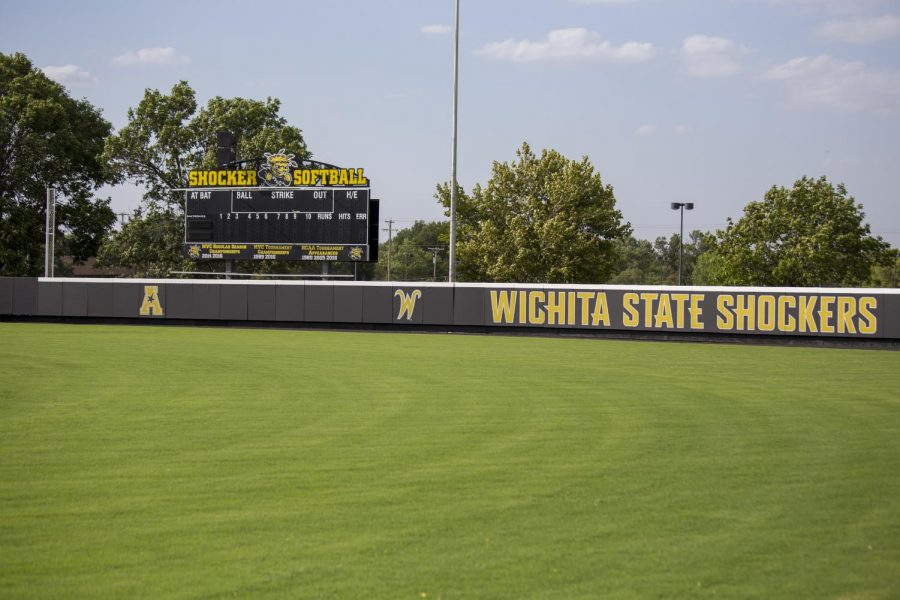 New fences are installed at Wilkins Stadium. The new fence features safety padding that is said to lessen the potential for injury should a player collide with the fence.