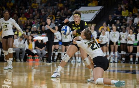 Freshman overcomes Division I doubts, reaches new heights at Wichita State