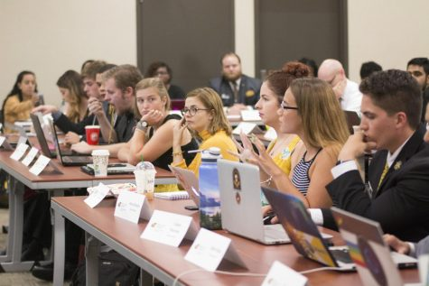SGA adds seats to standing committees, considers redirecting own rollover money to fund student events