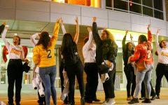 Members of Lambda Pi talk integration into WSU's Greek community
