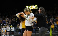 WSU's Kali Eaken likely out for season, Taflinger day-to-day