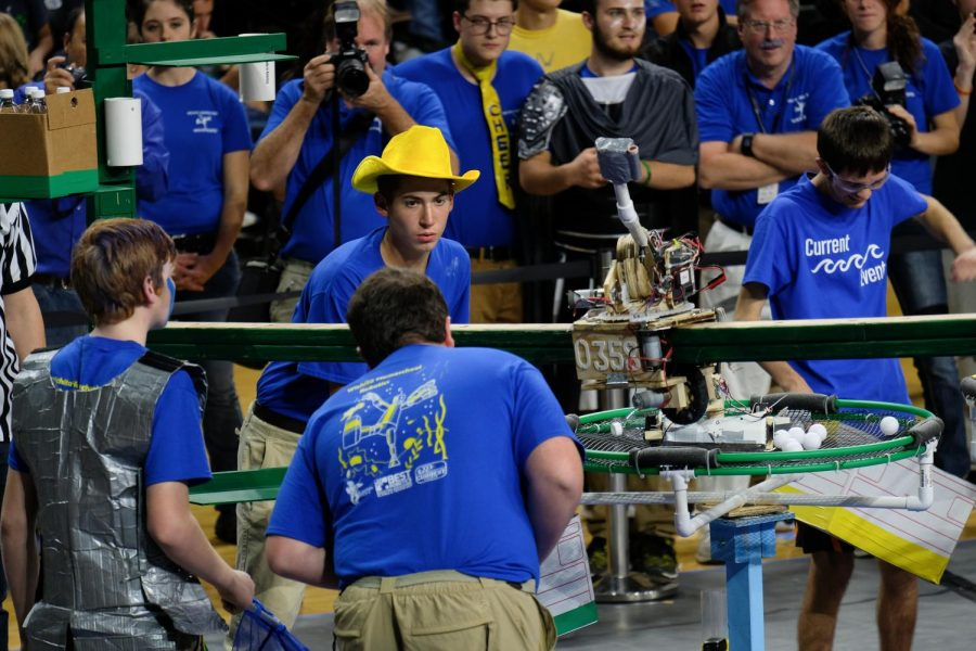 Kansas Best Robotics 2018 completiton is at Charles Koah Arena on Saturday, Oct. 20, 2018.
