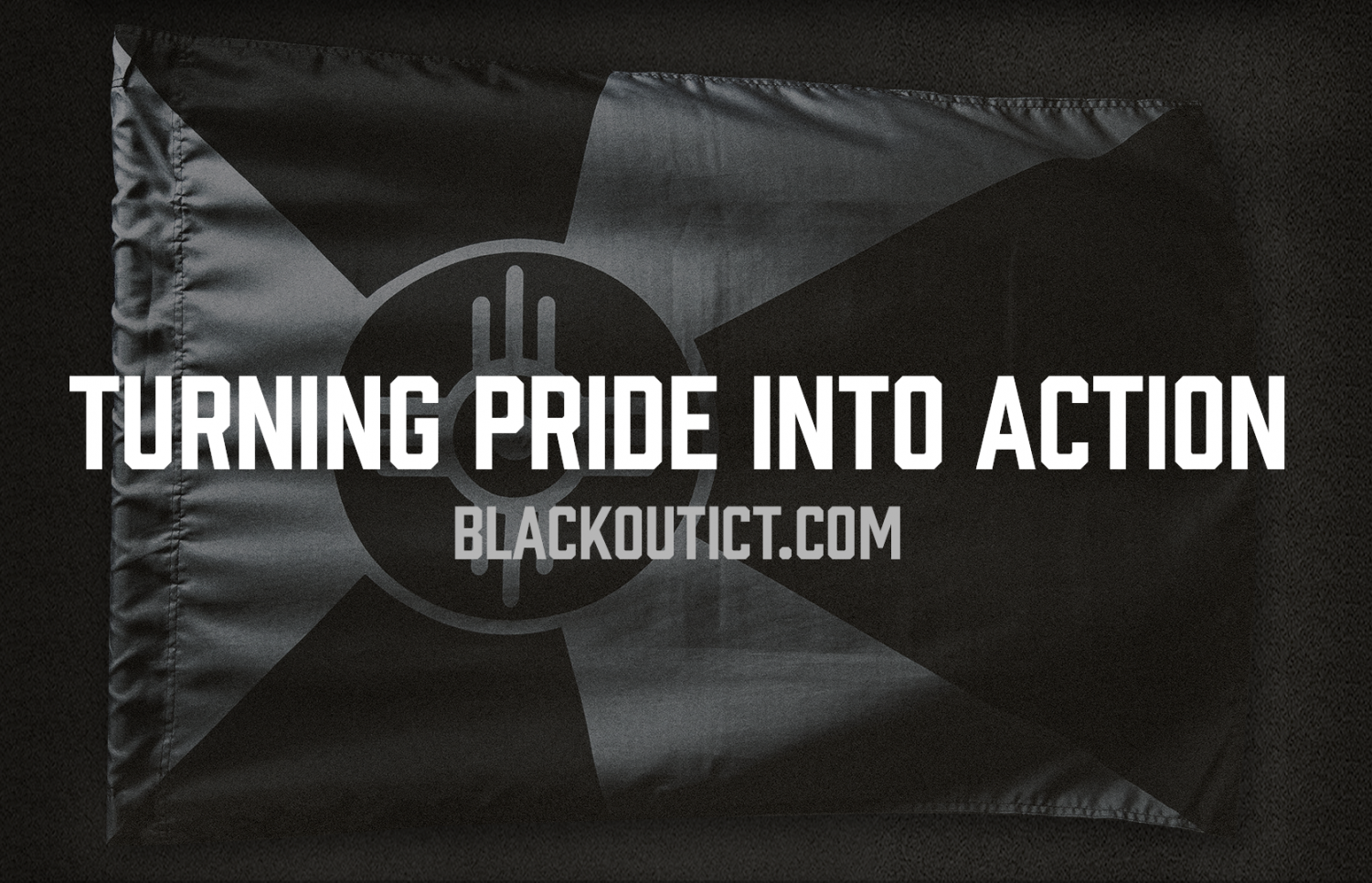 #BlackoutICT social media images are available for free on Blackout ICT's website, which encourages Wichitans to