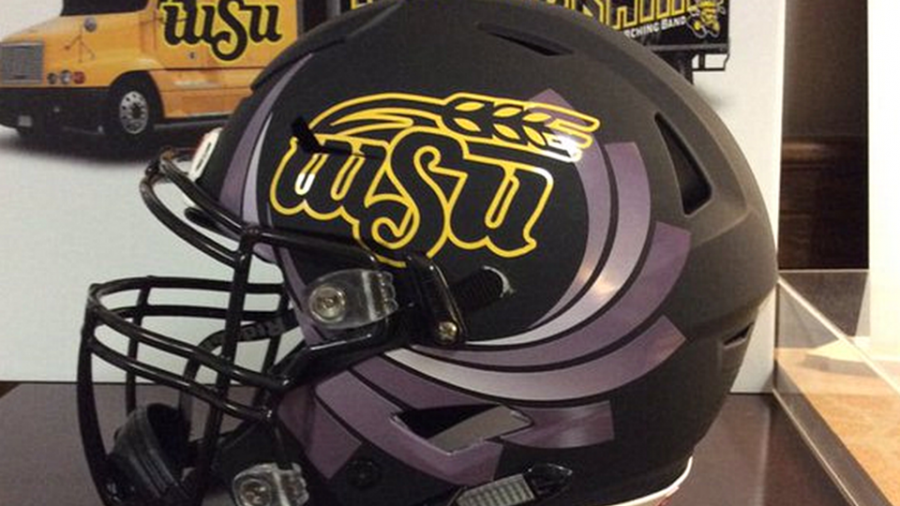File Photo of the WSU Football helmet.