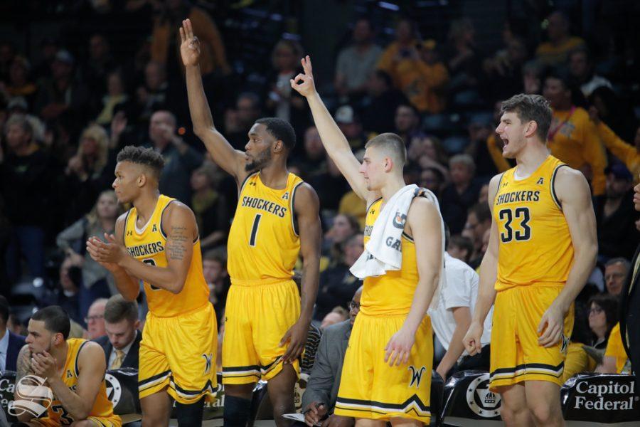 Asbjorn Midtgaard Wichita State Shockers Basketball Jersey - Black