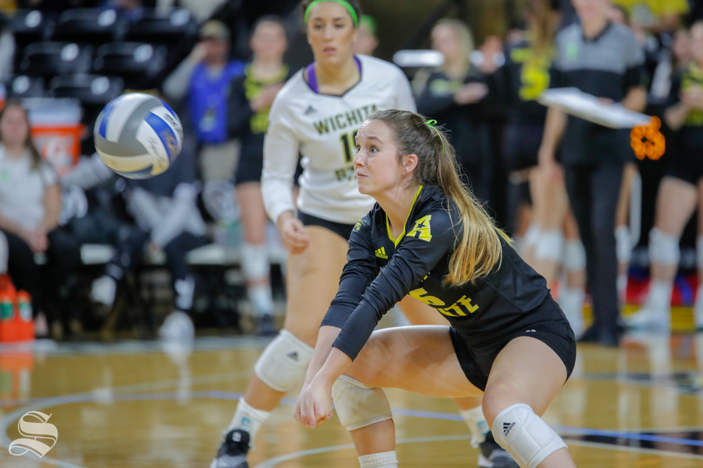 Shockers — once picked to win the conference — swept in three sets