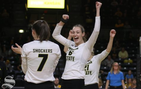 Wichita State takes down Hofstra in five sets