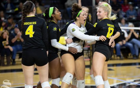 First AVCA poll released, four Shocker opponents rank in top-10