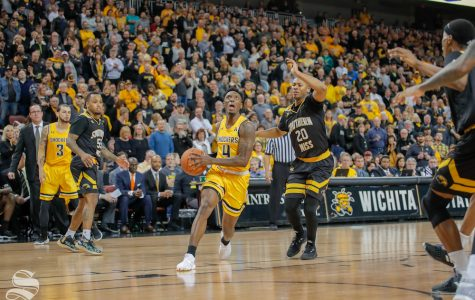 Shockers hold on despite fumbling 17-point second-half lead