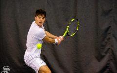 PHOTOS: Men's Tennis beats Denver, stays even