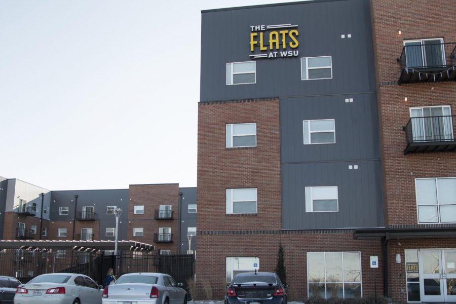 The Flats is a private apartment complex located on Innovation Campus.