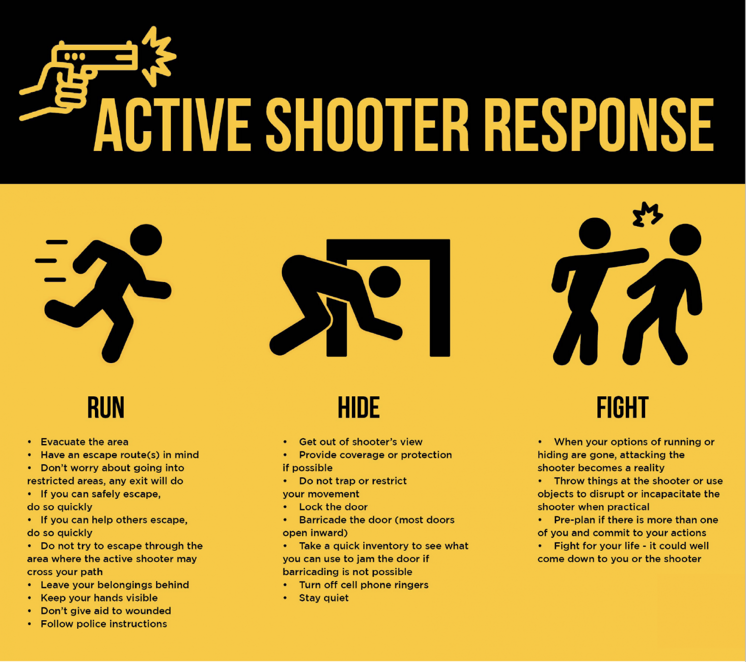 Police Department Talks Active Shooter Preparation