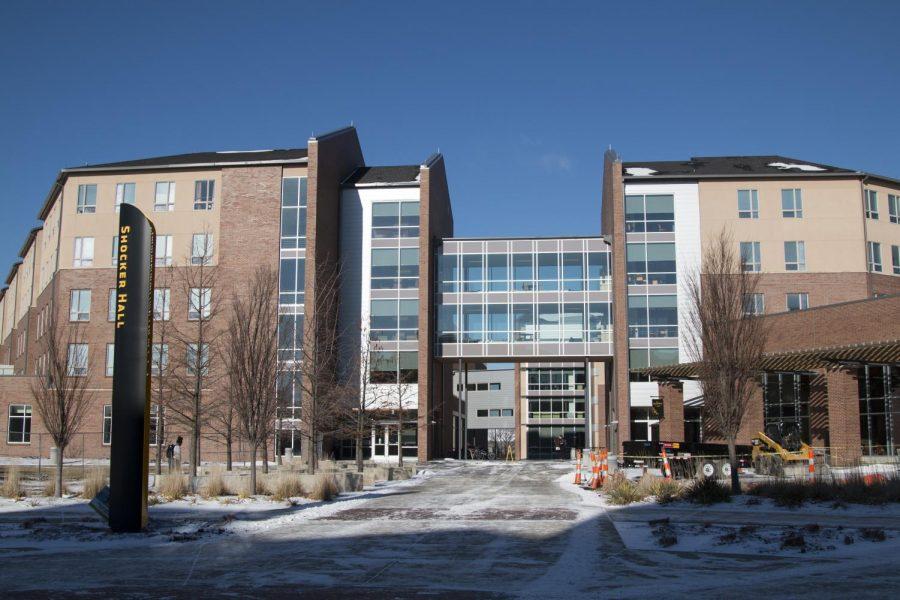 Shocker+Hall+on+Wichita+States+main+campus