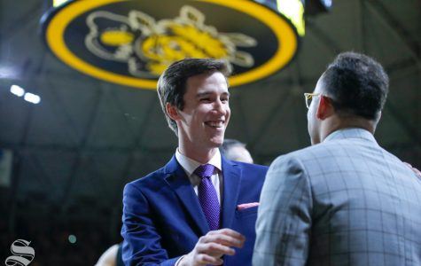 As he prepares to graduate this spring, Kellen Marshall is keeping an open mind for the future. His father, Gregg Marshall, is hopeful his son will have a similar future in college basketball.