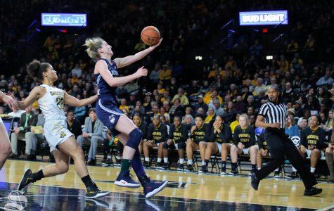 No. 2 UConn obliterates Wichita State in first-ever Koch Arena visit