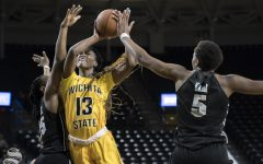 PHOTOS: Knights stab Shockers, lose 57-49