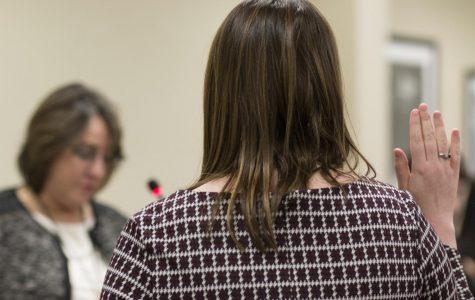 Brinkley resigns as student body president; VP Rowell sworn in