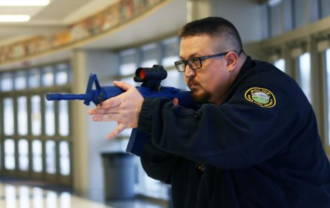 University police hold active shooter training at Koch Arena