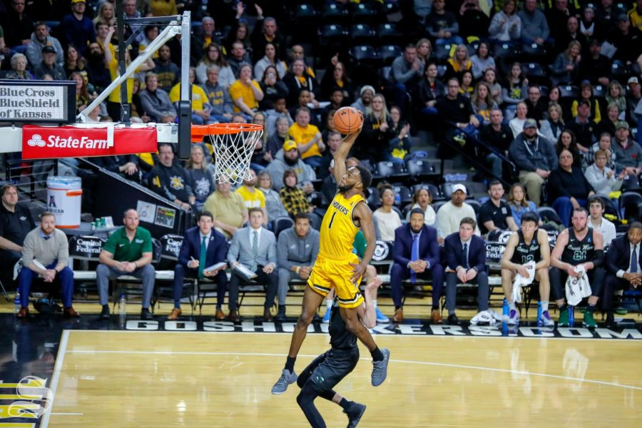 Behind McDuffie's offense, Wichita State surges to a game above .500