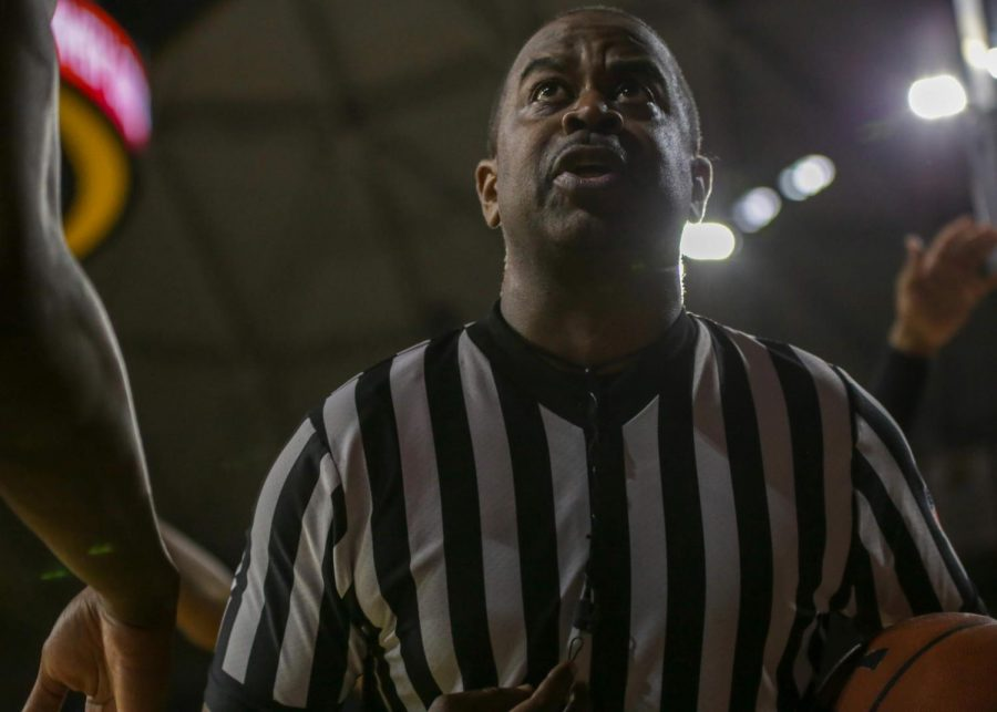 A college basketball referee.