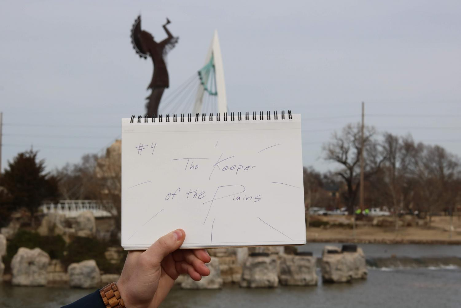 Stop #4: The Keeper of the Plains. Catch some fresh air and relax by the river with your valentine at this legendary Wichita monument.