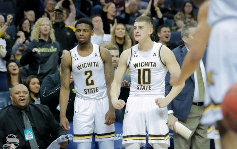 'He's poised': Erik Stevenson's 3-pointers lead Wichita State up to a first round win