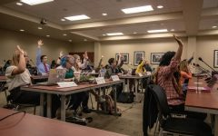 SGA meeting includes fees budget first read, recognition of Bardo and New Zealand shooting