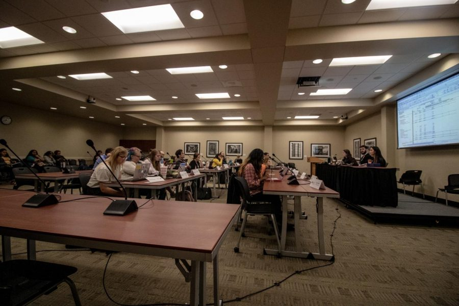 (File photo, Mar. 20 SGA meeting)