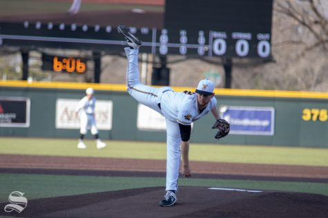 Wichita State baseball leaves runners stranded, drops a tight match with Oklahoma State