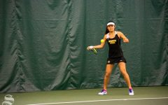 Women's tennis starts season on a high note