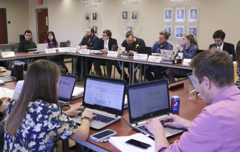 Student Fees Committee prioritizes student organizations during deliberation meeting