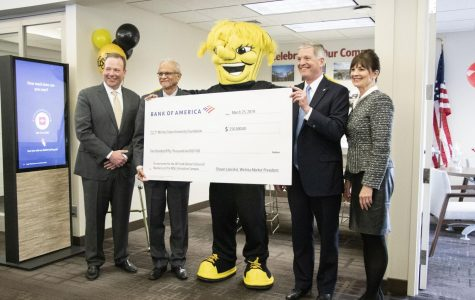 Bank of America donates $250,000 to new business school, will not count towards remaining $20 million needed for construction