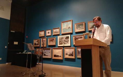 Kansas Poet Laureate's visit to Wichita State radiates love of homeland and jazz