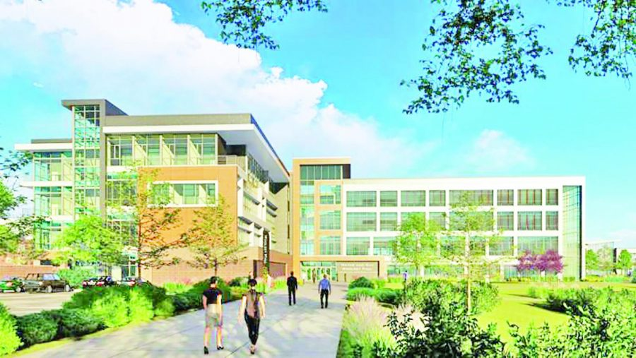 If next weeks student fee referendum passes, more than half of the money raised by the fee hike would go towards the construction of a new business building, Woolsey Hall.