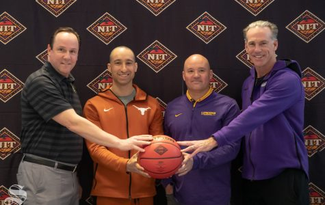 PHOTOS: National Invitation Tournament players and coaches meet with media