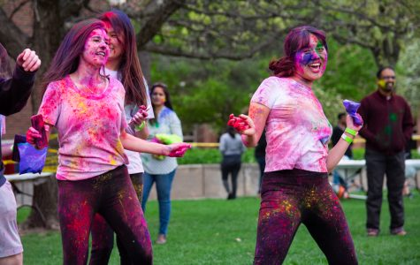 PHOTOS: Holi brings Spring to campus