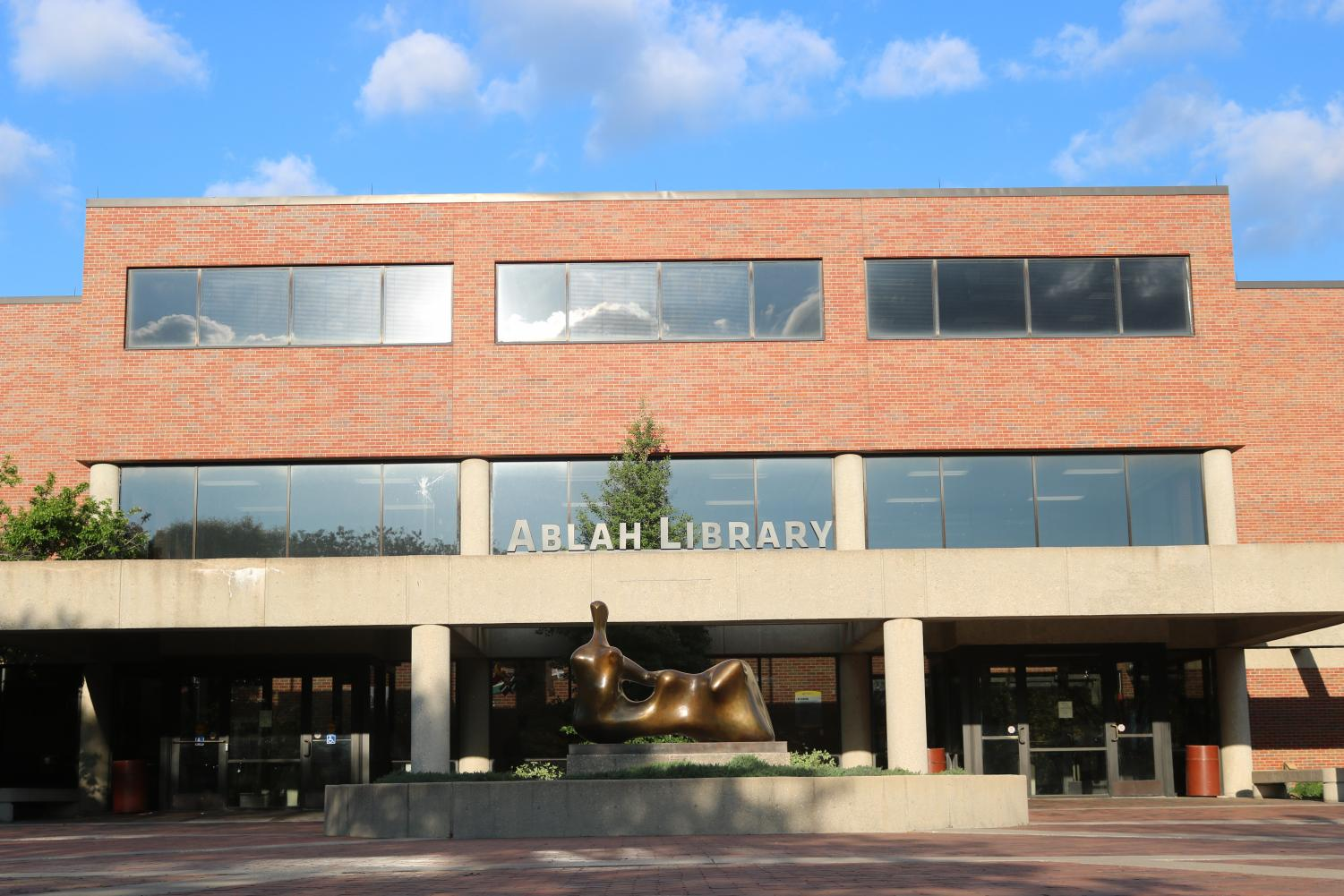 Wichita State University's Ablah Library.