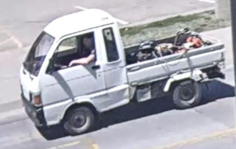 Thief drank Gatorade, stole cart, and fled campus with chainsaws on 4/20