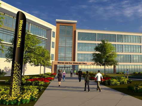 Wichita oilman Wayne Woolsey and his wife, Kay, put a lead gift of $10 million towards the new business building, which will be named after them.