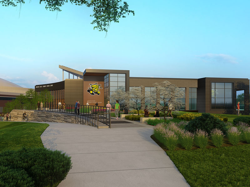 Rendering of the Student-Athlete Success Center