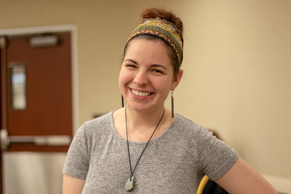 Haley Esnz is hired as a middle school art teacher.