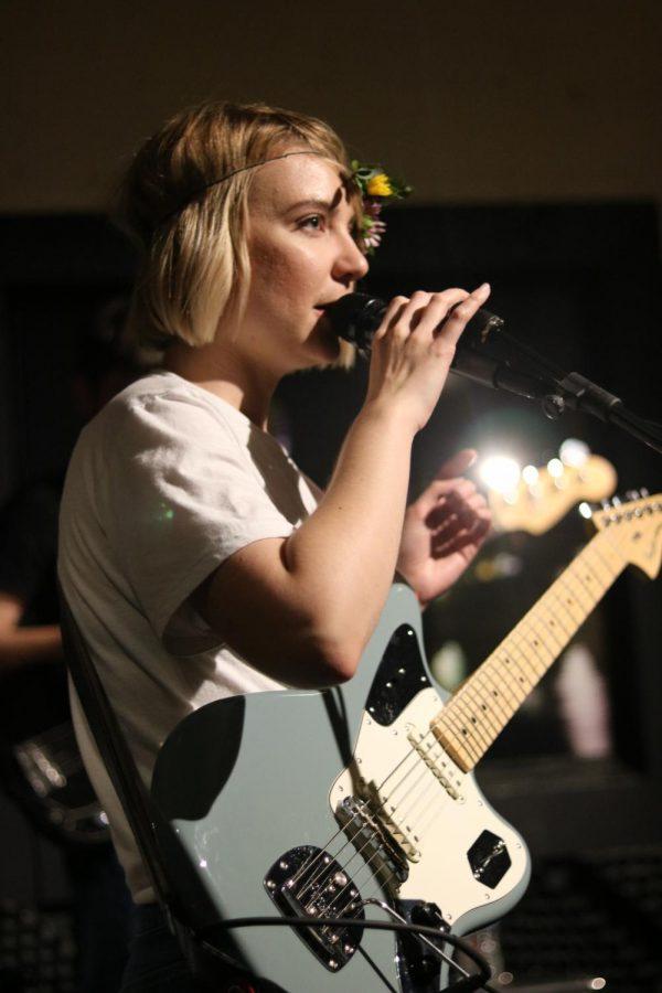 Kristyn Chapman of Cartwheel performs at Jenny Woodstock on Saturday, May 25 at The Back Beat.