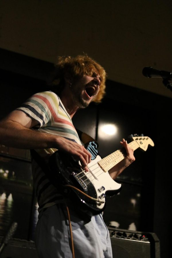 Troy Toon of The Cavves rocks out at Jenny Woodstock on Saturday, May 25 at The Back Beat.